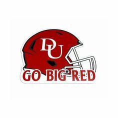 Denison Big Red Football Sign