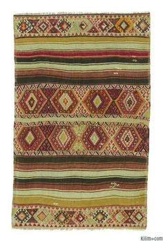Vintage Malatya Kilim Rug with jijims. This piece is around 80 years old and in very good condition. Malatya, a Turkish town in eastern Anat...