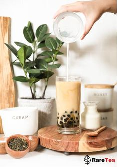 DIY BOBA MILK TEA AT HOME!!  Same high quality as from our tea shops. Start perfecting boba at home today!