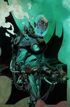 Mr Freeze Brentmckee Colors by *SpicerColor on deviantART