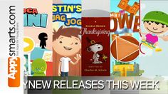 Top new releases for iPhone and iPad for the first week of November 2013 selected by Appysmarts editors #kids #apps
