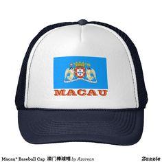 Macau* Baseball Cap  澳门棒球帽 Trucker Hat