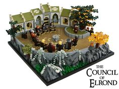 Middle Earth MOC - The Council of Elrond #LEGO by Disco86 on Flickr