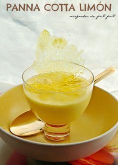 *** mingonolas de fruti fruti...: Panna cotta limón