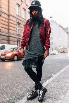 Bucket Hat & Bomber Jacket | Women's Look | ASOS Fashion Finder