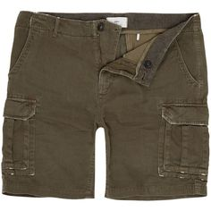 Minimum Longa Shorts (210 BRL) ❤ liked on Polyvore featuring men's fashion, men's clothing, men's shorts, men shorts, mens shorts, mens clothing, men's apparel, mens khaki shorts and mens cargo shorts