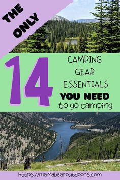 Camping should be fun and easy. It doesn't require lots of gear and gadgets. With these 14 basics, you can go camping and not need anything else but a great camping spot, food and friends… More Must Have Camping Gear, Cheap Camping Gear, Camping Set, Tent Camping, Camping Hacks, Camping Equipment, Camping Ideas, Camping Checklist, Camping Essentials