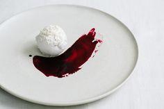 Probiotic Coconut Ice Cream with Elderberry Syrup | KRAUTKOPF