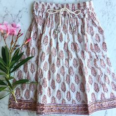 Little Gypsy Co - Girls Maxi Skirt - Posy