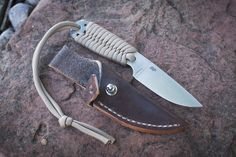 Enzo Necker and leather sheath.