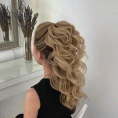Box Braids Hairstyles, Girl Hairstyles, Wedding Hairstyles, Hairstyles Videos, Hair Updo, Formal Hairstyles, Hair Upstyles, Wedding Hair Inspiration, Homecoming Hairstyles