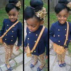 Yep!!! That would be my kid too..dressed like that..mini fashionista