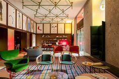 A Signature Hotel Design of Patricia Urquiola - Room Mate Giulia Hotel in Milan, Italy Interior Design Magazine, Luxury Interior Design, Best Interior, Interior Architecture, Room Interior, Patricia Urquiola, 3 Living Rooms, Living Room Trends, Design Hotel