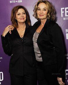 OMG 🙏🏻🔥 Jessica Lange and Susan Sarandon ❤❤❤ #jessicalange #joancrawford #susansarandon #bettedavis #feud #feudfx #feudbetteandjoan
