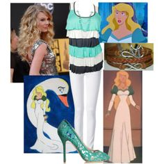 """""""Modern Odette"""" by mandilynn726 on Polyvore (I know that this is not Disney but it is one of my favorite movies)"""