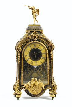 A GILTBRONZE MOUNTED BOULLE MARQUETRY CARTEL CLOCK, RÉGENCE, THE DIAL SIGNED BRULEFER / A MEAUX Large Vintage Wall Clocks, Antique Clocks, Large Clock, Clocks For Sale, Cool Clocks, Antique Pendulum Wall Clock, Art Nouveau, Classic Clocks, Retro Clock