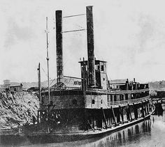 Steamboat Conversions of the Civil War  USS William H Brown, Timberclad Riverboat