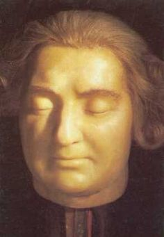 Louis XVI Death Mask, obtained by Mme. Tussaud herself after his execution.