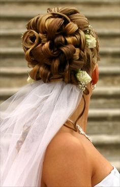 Bridal Hairstyles � Formal Hairstyles - Wedding Updo