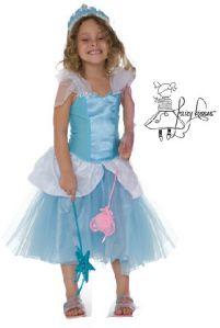 Fairy Kisses - Princess Dress (Aqua): Sizes M (6-7), L (8-9). $60.80