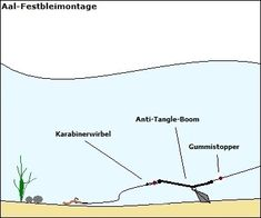 Zielfisch-Angelmontagen, Erklärung bekannter und fängiger Angelmontagen für bestimmte Zielfischarten, Montagen für Zielfische