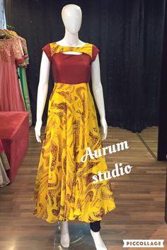 Kurthis Salwar Neck Designs, Churidar Designs, Kurta Designs Women, Dress Neck Designs, Blouse Designs, Salwar Pattern, Kurti Patterns, Dress Patterns, Long Gown Dress