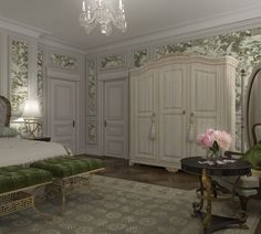 Darya Girina Interior Design: Interior design of Lux apartments of the Bariatinsky Palace (reconstruction of historical interiors adapted for the current use)