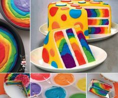 Tie Dye Rainbow Cake | The WHOot
