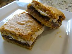 S'mores Bars  Great Scott, Look at that Chocolate.