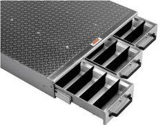 Truck Floor Storage Drawers