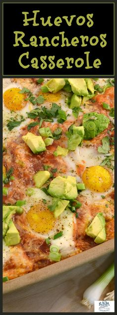Just in time for Cinco de Mayo. Try this hearty ranchers egg casserole for breaksfast lunch or dinner.
