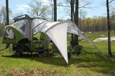 I want one!  :D SylvanSport GO - Mobile Adventure Gear Camping Trailer