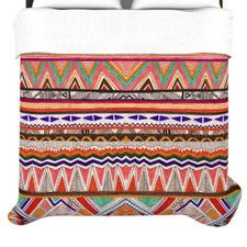 Native Tessellation Duvet Cover
