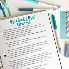 [ p i n t e r e s t ] : wavykiara Pretty Notes, Cute Notes, How To Write Neater, Muji Pens, Neat Handwriting, Study Break, Study Inspiration, School Notes, Good Grades