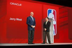 NBA Legend Jerry West by Oracle_Photos_Screenshots, via Flickr