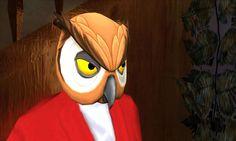 GTA V Owl mask (Vanoss)