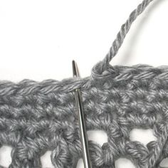 Here's a pretty nifty join for finishing off crocheted items.