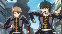 I love Sadomayo moments where sougo teases the heck out of hijikata (lol) Gintama Funny, Gintama Gif, Gintama Wallpaper, Manga Anime, Anime Art, Silver Samurai, Sengoku Basara, Okikagu, Illustration Art