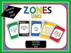 Speech Paths: Zones of Regulation Uno