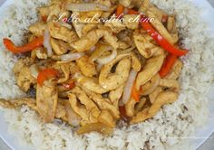 Pollo al estilo chino China, Meat, Chicken, Food, Top Drawer, Chinese Style, Recipes, Meals, Porcelain