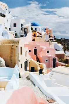 Greece is a beautiful city that is perfect for Instagram.
