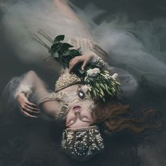 Fashion Photography...'Ophelia' by Voodica via Fivehundredpx.