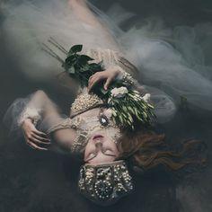 Fashion Photography...'Ophelia' by Voodica via Fivehundredpx.