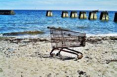 Daily Writing Prompt - Tell the story of this trolley from its perspective in first person present tense.