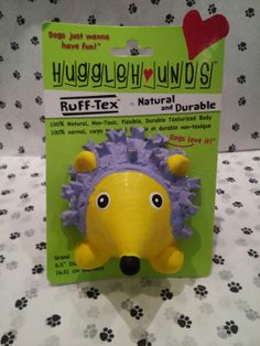 Huggle Hounds Porcupine #GodfreysDogdom