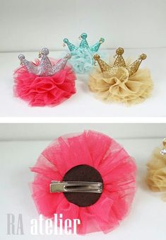 "100 BLESSING Good Girl Boutique Headband 3/"" A-chrysanthemum Hair Bow 98 No."