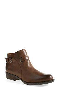 Børn 'Jem' Leather Bootie (Women) available at #Nordstrom