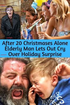After 20 Christmases Alone Elderly Man Lets Out Cry Over Holiday Surprise Elderly Man, Yes I Did, Surprise Me, Mehandi Designs, Little Books, Alone, I Laughed, Crying, Fun Facts