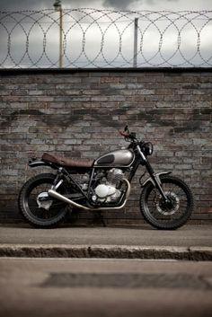 Street Tracker #motos #motorcycles | Cafe Racer Pasión