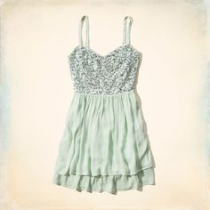Girls Hammerland Shine Skater Dress | Girls Clearance | HollisterCo.com